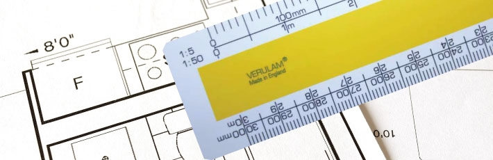 VERULAM scale rulers printed with your logo