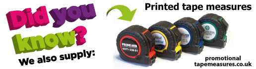 Link to promotional tape measures
