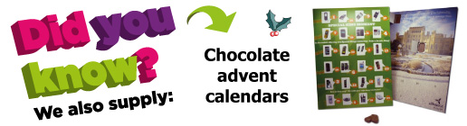 Promotional advent calendar