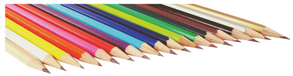 Classic pencil range colours 3