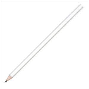 Classic round wooden pencil - 2B lead - no eraser