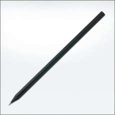 Black wooden eco pencils - no eraser
